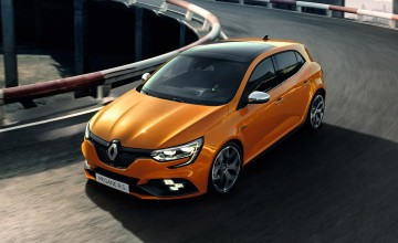 Hot Megane sets Frankfurt pace