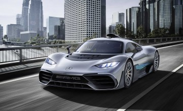 Merc hypercar brings F1 to the road