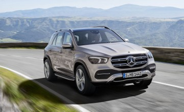 Petrol leads way for new GLE