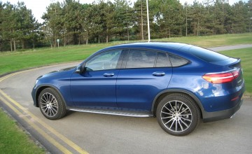 Mercedes-Benz GLC 250 d 4MATIC AMG Line Coupe