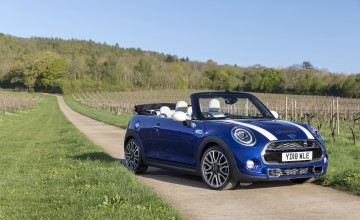 Special MINI marks open top jubilee