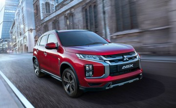 New look for Mitsubishi ASX