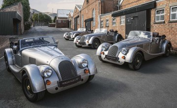 Rare Morgans roll off the line