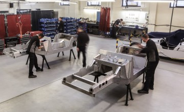 Morgan ends V8 production