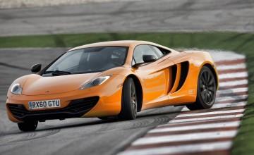 McLaren supercar in full swing