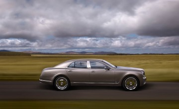 Mulsanne straight to the top