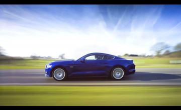 Ford Mustang gallops into Britain
