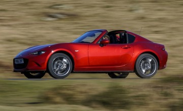 Red Dot honour for Mazda MX-5 RF