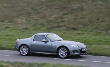 Hard top MX-5 spearheads Mazda range