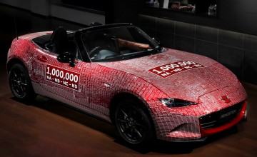 World tour for millionth Mazda MX-5