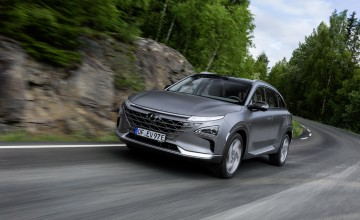 Hyundai Nexo the future utility vehicle