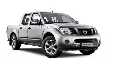 Nissan pick-up does the business