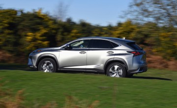 Lexus introduces low emission NX SUV