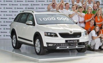 New Skoda Octavia makes a million