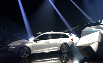 Glitzy launch for new Skoda Octavia