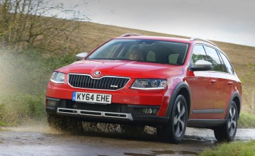 Skoda estate won't fall short in the field
