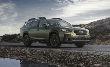 New generation Subaru Outback