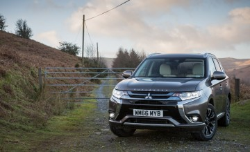 Mitsubishi Outlander on fresh charge