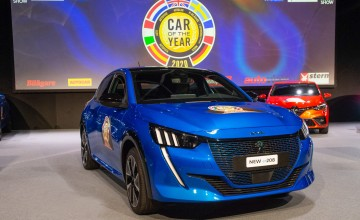 Peugeot takes Europe's top car honour