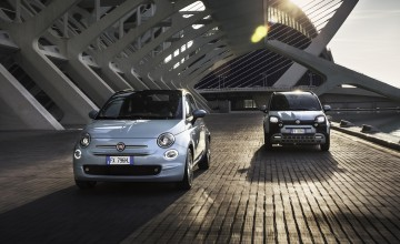 Fiat goes green with hybrid power