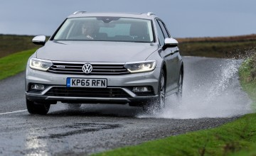 VW Passat Alltrack a go-anywhere estate