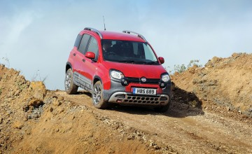 Fiat Panda cuts it off-road