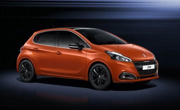 Future is orange for Peugeot 208