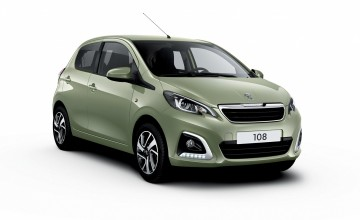 Green make-over for Peugeot 108