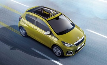 Trendy trim for Peugeot 108