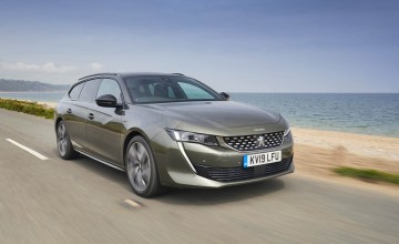 Peugeot 508 SW an estate of class