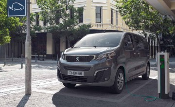 Peugeot's Traveller goes electric