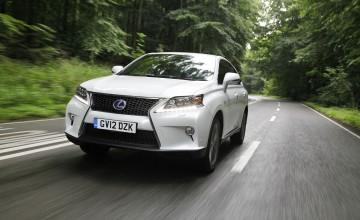 Lexus advances RX450h line-up