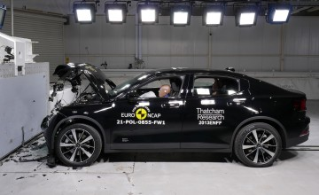 Top safety scores for Polestar, Cupra