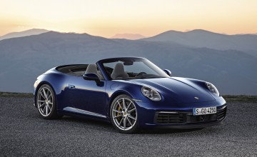 Hats off to new topless Porsche