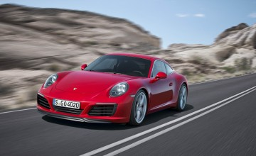 Porsche 911 turns on to turbo power