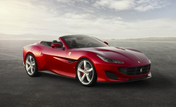 Italian style in Frankfurt with Ferrari Portofino