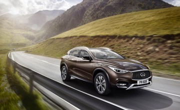 Infiniti's four-wheel-drive hatch