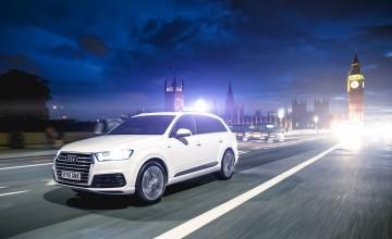 Hush, hush drive from Audi Q7 e-tron