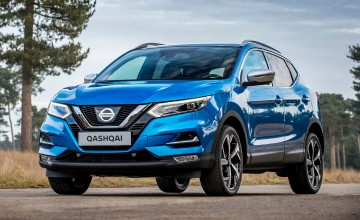 Covers off new Nissan Qashqai