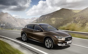 Brit-built Infiniti QX30 for global market