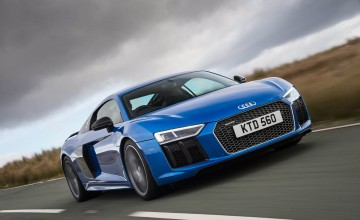 Audi R8 V10 plus - First Drive