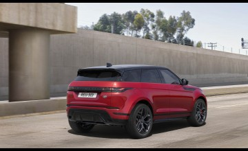 Sporty look for newest Evoque