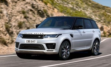 Hybrid power for Range Rover Sport