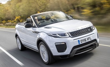 Range Rover Evoque Convertible - First Drive