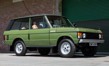 Classic Range Rover tops £100,000