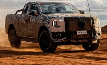 Ford teases next Ranger