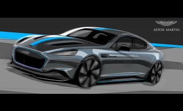 Aston confirms electric Rapide