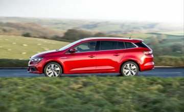 Megane goes touring in spacious style