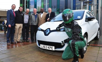 Renault powers electric car club