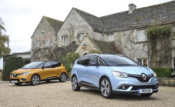 Hybrid power for latest Renault Scenic